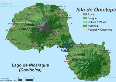 nicaragua-ometepe-karte