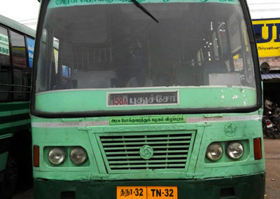 Indien-Pondicherry-Bus-2