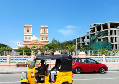 Indien-Pondicherry-streetview-22