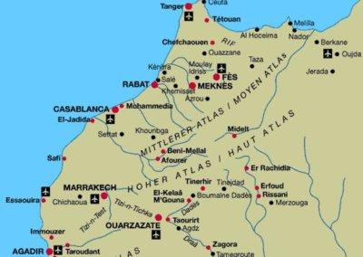 marokko-karte